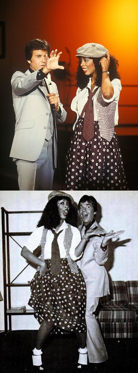 Dick Clark & Donna Summer on American Bandstand (1978)