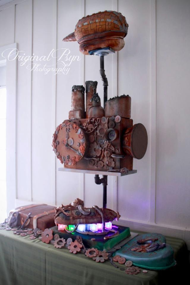 Steampunk Wedding Cake Images