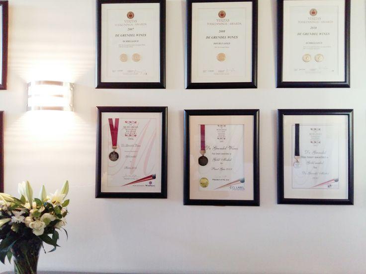 Awards at De Grendel