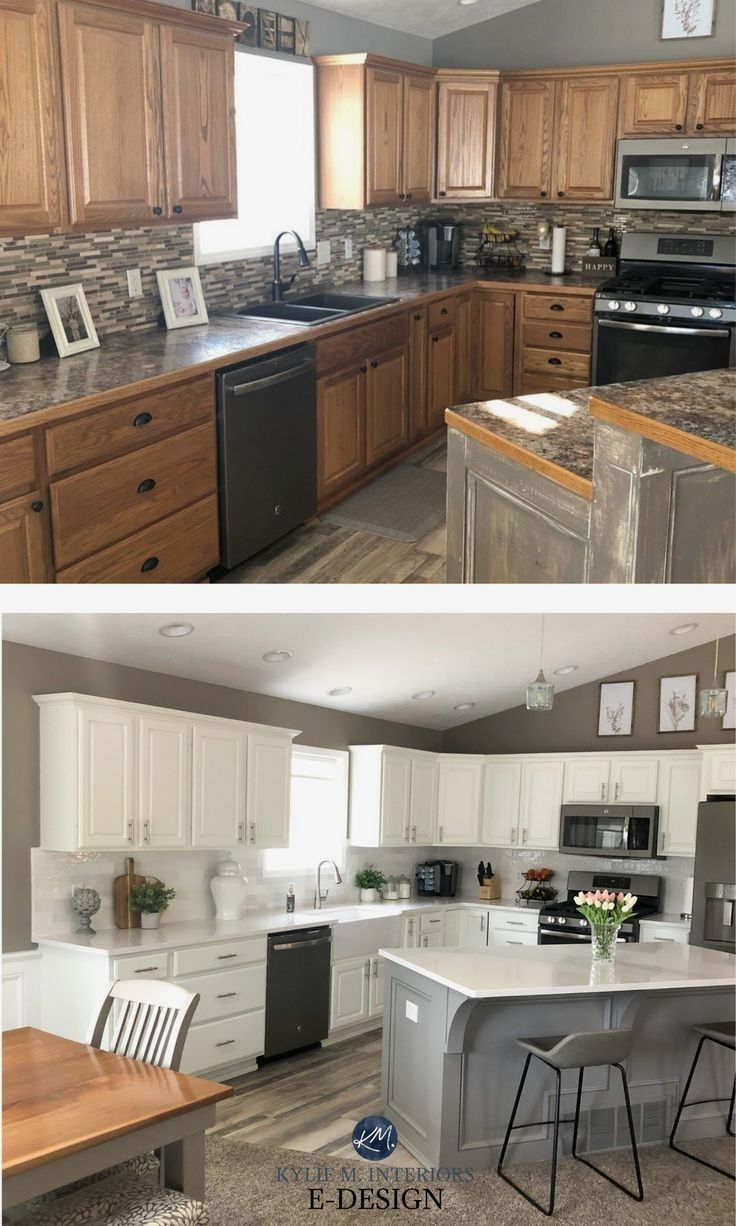 4 Ideas How To Update Oak Or Wood Kitchen Cabinets Diy Kitchen Renovation Kitchen Cabinet Colors Wood Kitchen
