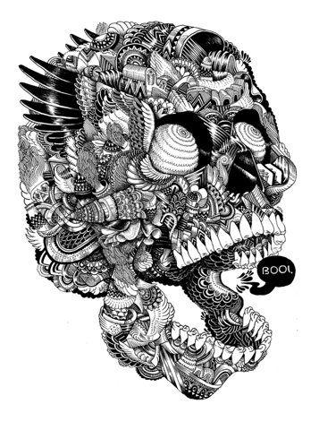 Animal illustrations and shirt designs by iain macarthur, via Behance http://www.pinterest.com/robocat58/
