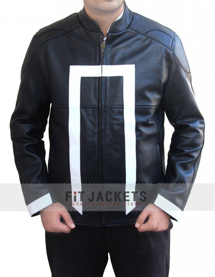Super new Gabriel Luna Ghost Rider Agents of Shiled Jacket for sale fitjackets.  #GhostRider #Movie #GabrielLuna #Celebrity #Fashion #Shopping #Stylish #Fashion #MensJackets #geektyrant #geek #geekcheezburger #LeatherOutfit #MensFashion #MensWear