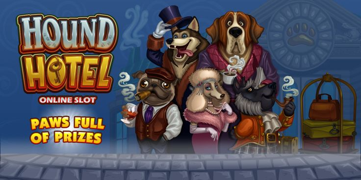 Hound Hotel Online Casino play at www.europalace-casino.com