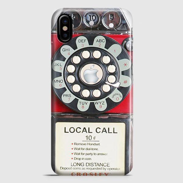 Telephone Area Code iPhone X Case | casescraft