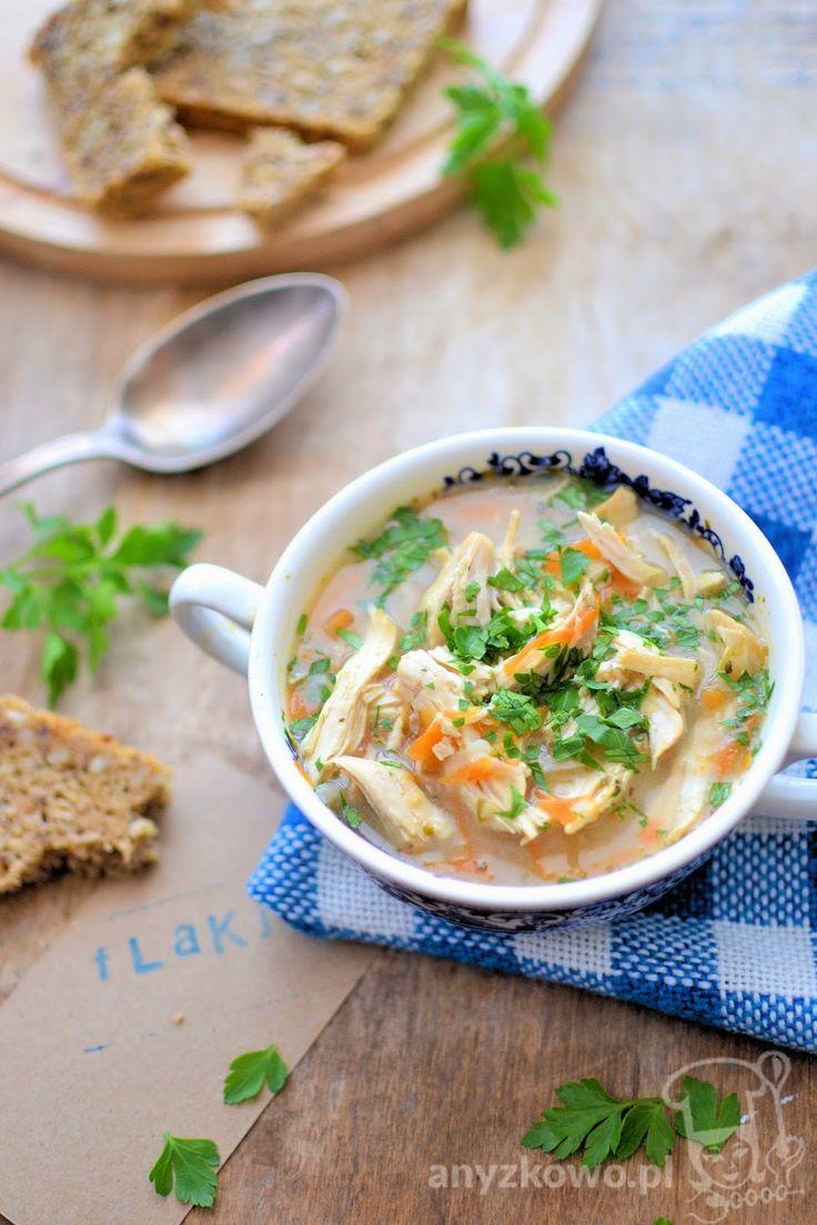 Anyżkowo: Sycąca zupa z kurczaka