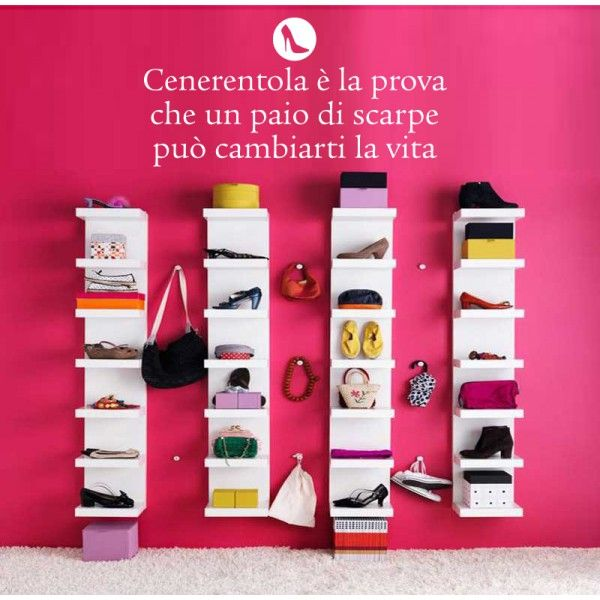 Wall sticker per fashion addicted. #cenerentola #scarpe
