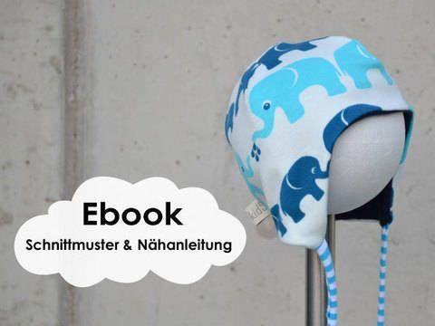 """""""Bindemütze"""" Baby-Mütze / Schnittmuster und Nähanleitung - S... Baby Dress Check more at http://www.newbornbabystuff.com/bindemutze-baby-mutze-schnittmuster-und-nahanleitung-s-baby-dress/"""