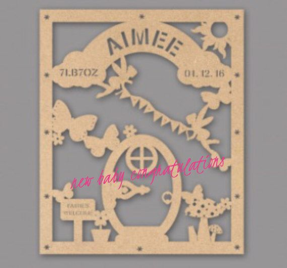 Baby Girl Birth Hanging Plaque this sign is designed to have the first name, date, time and weight