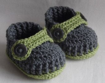 sapatinhos de crochê bebê , 0-0, 0-3, 3-6 months