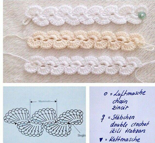 Mejores 128 imágenes de Crochet headbands/hair accessories en ...
