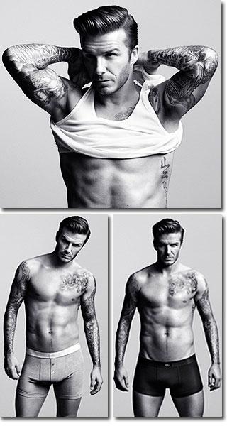 Ahhhh David Beckham :) Da muss ich einfach hinschauen... Wegschauen verboten!!! :D