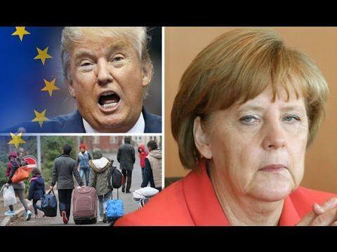 Merkels Untergang   Trumps Aufstieg ➤ Auf der Flucht vor der Wahrheit