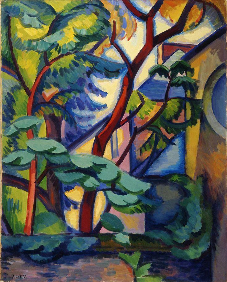 André Lhote: Paysage fauve à l'Estaque (1909)