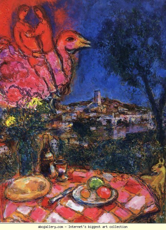 17 best images about histoire de l 39 art on pinterest for Chagall st paul de vence