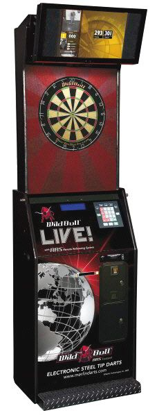 Wild Bull LIVE Online Steel Tip / Bristle Electronic Tournament / League Dartboard Machine | From Wild Bull Darts |   Get more information about this game at: http://www.bmigaming.com/games-catalog-merlin-technologies.htm