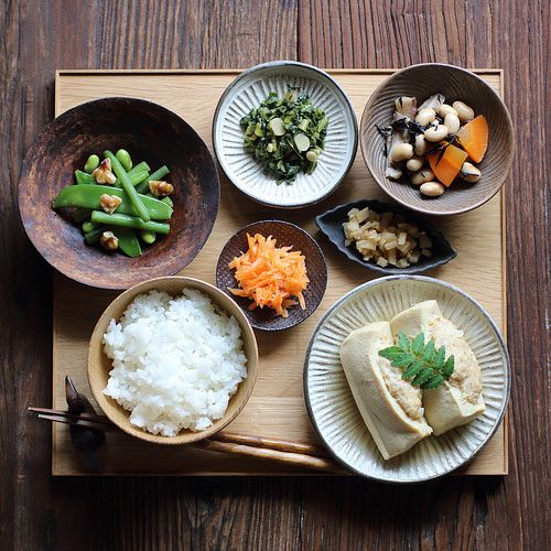 Japanese meal by Miki Nagata (bananagranola), via Flickr
