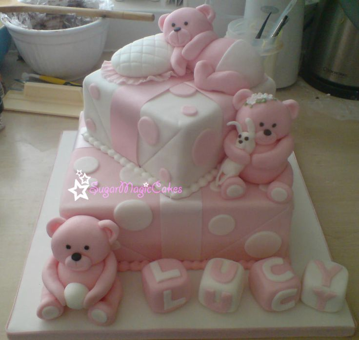 Teddy Bear Gifts ♡ - Cake by SugarMagicCakes (Christine)