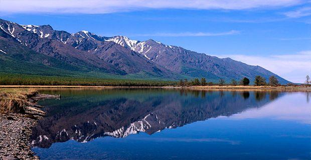 Disfruta El Hermoso Lago Baikal, Conocido Como El Lago Mas Profundo Del Mundo.