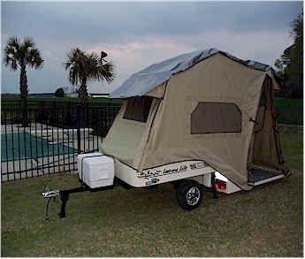 Excellent Lightweight 2011 Viking Express Tent Trailer