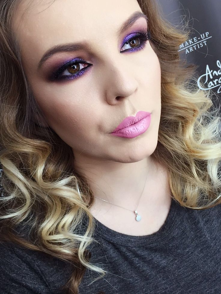 #purple #makeup