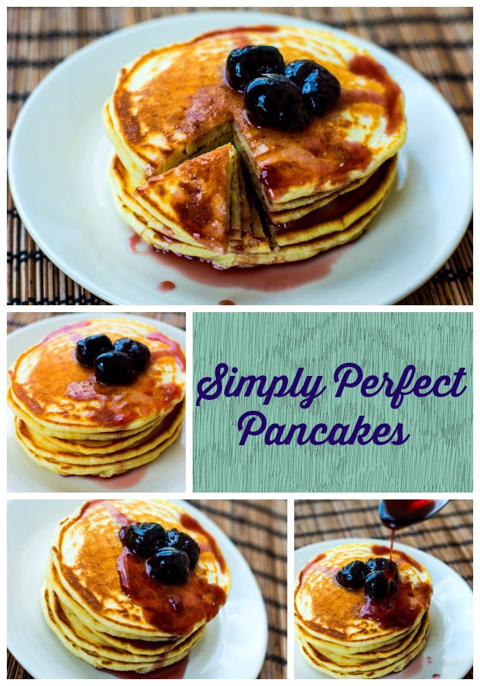 Simply Perfect Pancakes - For such a simple dish – flour, milk, salt, butter, eggs, backing powder – there are certainly a looottt  of recipes out there http://anitacuisine.com/2015/08/13/simply-perfect-american-pancakes/