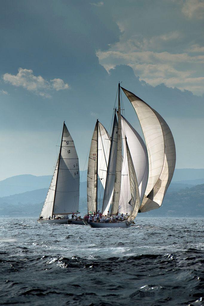Les Voiles de Saint Tropez yacht race