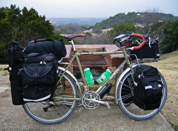surly long haul trucker; touring bicycle
