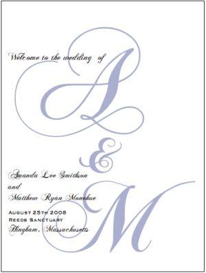 free printable wedding programs free printable elegant gift