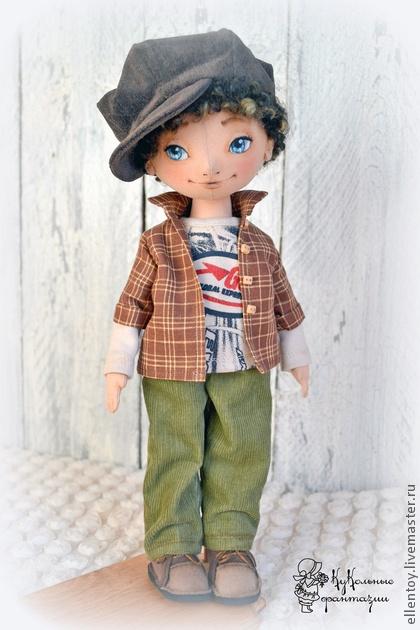 Muñecas de colección hechos a mano. Feria Masters - muñecas hechas a mano amorosa pareja. Hecho a mano.