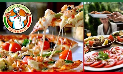 Sicilian Gourmet Pizza & Pasta -- Ricktag members Save 10% Off their total food bill