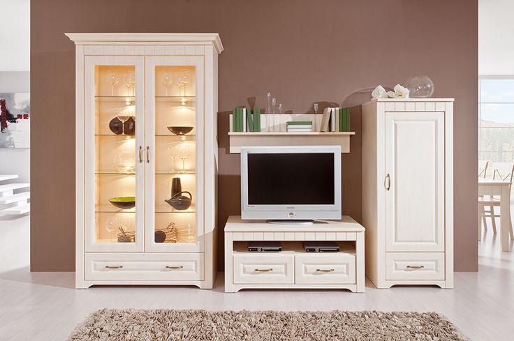 Obývačka Decodom: TIROL  prevedenie: Vanilka patina  [Living room: Tirol colours: Vanilla old]