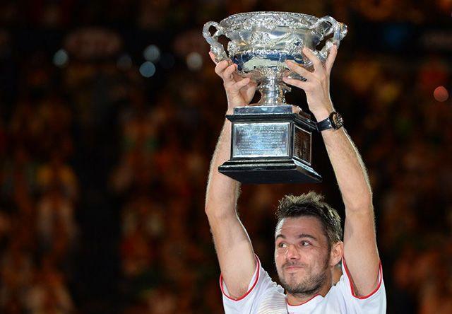 AUSTRALIAN OPEN - Stanislas Wawrinka beats Rafael Nadal 6-3 6-2 3-6 6-3