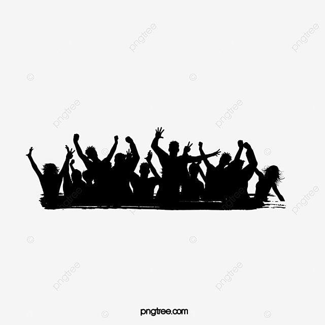 Gambar Album Orang Siluet Angka Angka Siluet Bersorak Vektor Orang Png Dan Vektor Dengan Latar Belakang Transparan Untuk Unduh Gratis In 2021 Silhouette Illustration Silhouette People Graphic Design Background Templates
