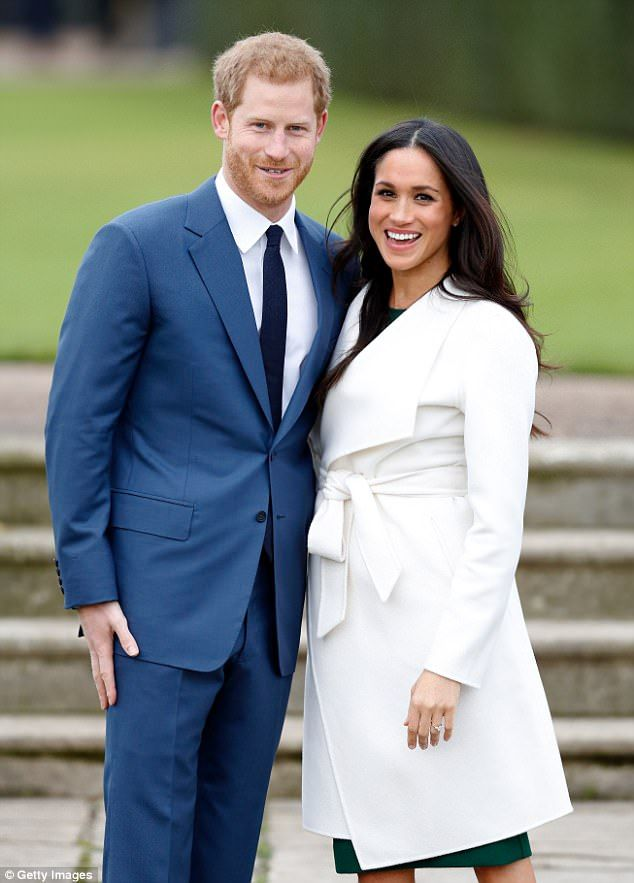 Save the date!Prince Harry, 33, and Meghan Markle, 36, will say 'I do' at St. George's Ch... #princeharry #meghanmarkle #royals