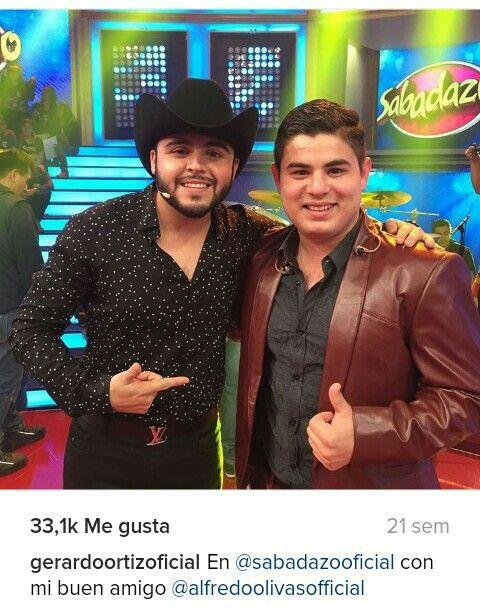 Gerardo Ortiz y Alfredo Olivas