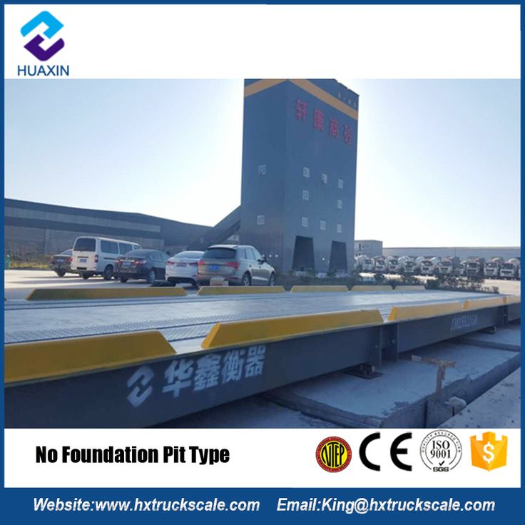 Scale Industry Electronic Weighing Weigh Bridge 80 Ton Used Truck Scale