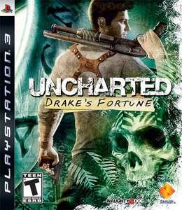 Uncharted Drake's Fortune - PS3 Game