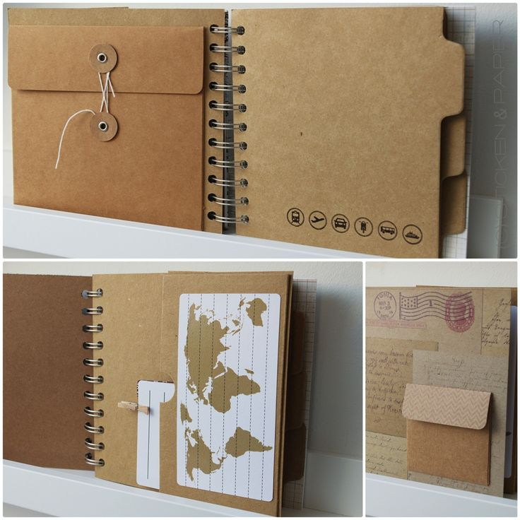 Sticken & Papier: Reisetagebuch