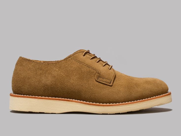 Red Wing Postman Oxford (Olive Mohave)