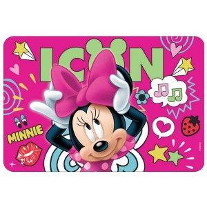 Παιδικό σουπλά πλαστικό LUNA 43x29cm Minnie