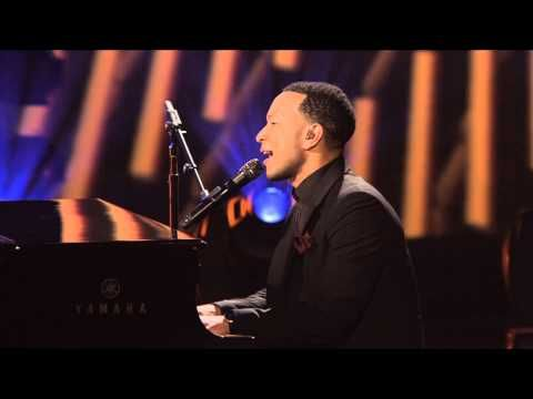 "John Legend with Lindsey Stirling, ""All of Me"" -- Live at the Kennedy Center - YouTube"