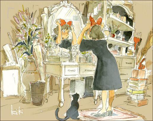 Kiki's Delivery Service | Hayao Miyazaki | Studio Ghibli / Kiki / 「ジブリ詰め」/「MASSO」の漫画 [pixiv] [07]