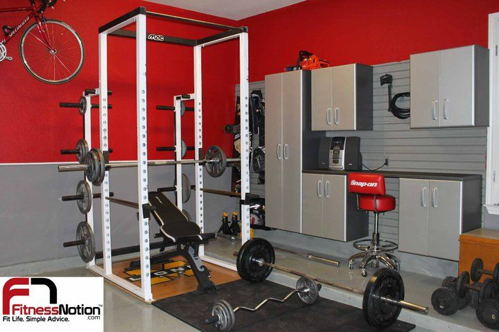 Garage gym flow wall in action pinterest and workout