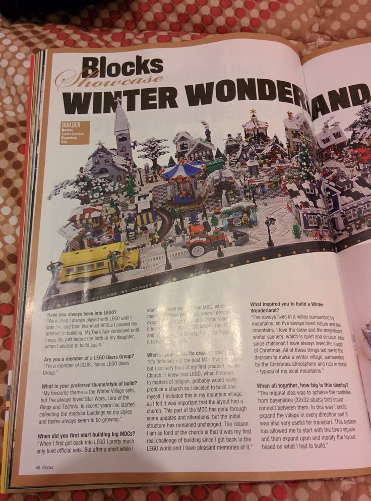 https://flic.kr/s/aHsjNJwoRH | Lego Winter Village 2014 | In this album there are pictures of the new modules that will be presented in the new 2014 Winter Village diorama!