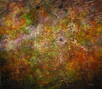 """Black Hole I"" by Duane Armstrong #abstract"