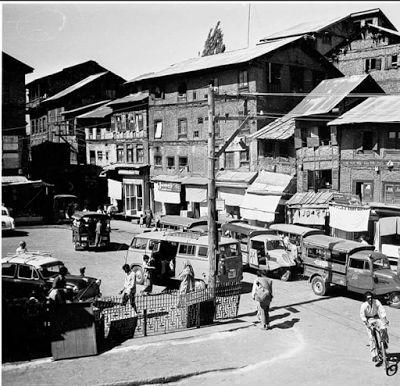 Habba Kadal chowk Srinagar in 1970s.