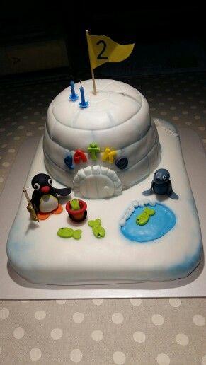 My Pingu cake