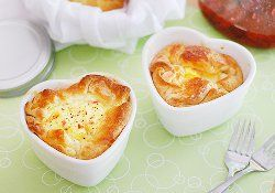 Panera Ham and Swiss Baked Egg Souffles