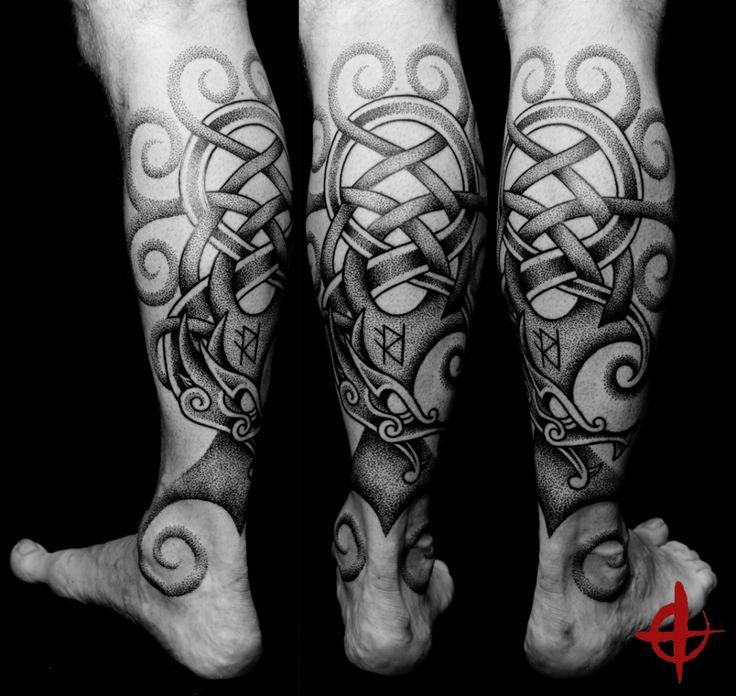 95 Best Viking Tattoo Designs Symbols: Yggdrasil, Tattooed By Hand