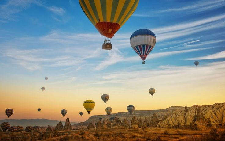Hot air Balooning in Cappadocia, Turkey. Holidays with Kids destinations to touch your soul. Turkey for kids